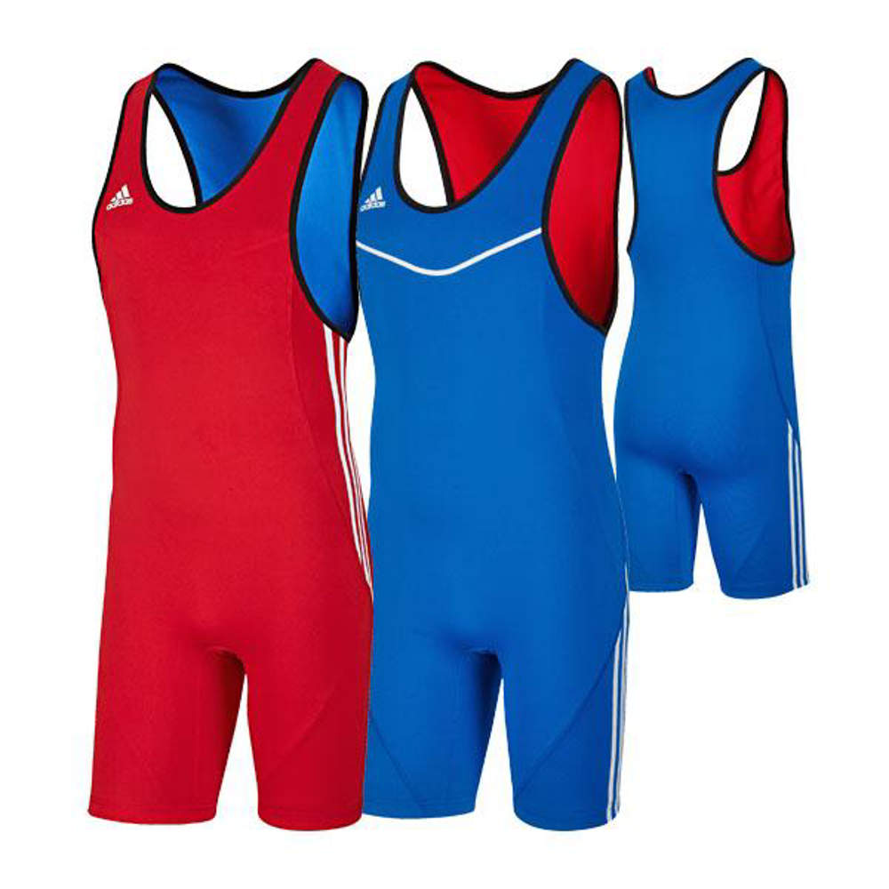 Picture of adidas® 2in1 reversible wrestling singlet