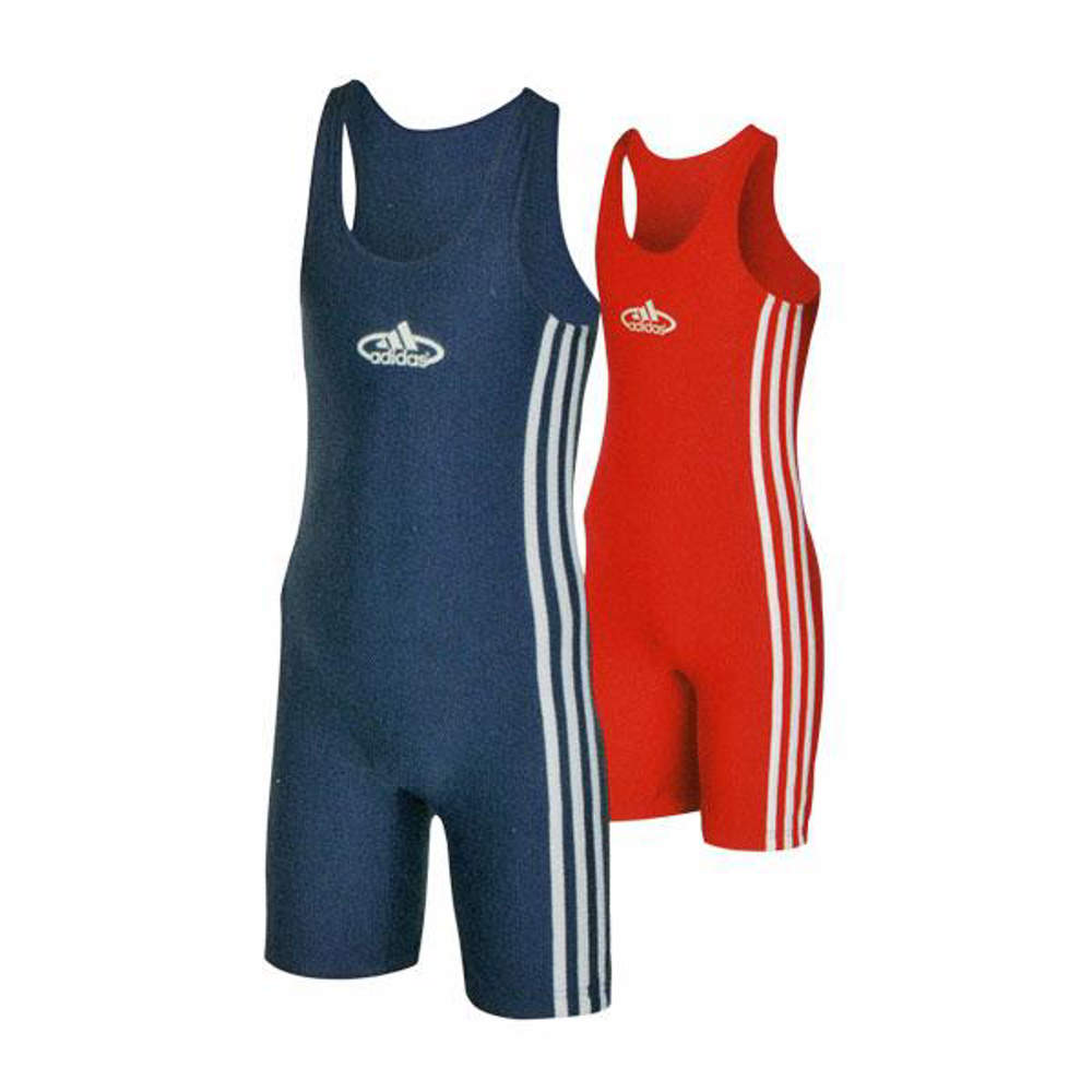 Picture of adidas® wrestling singlets for children, set of 2
