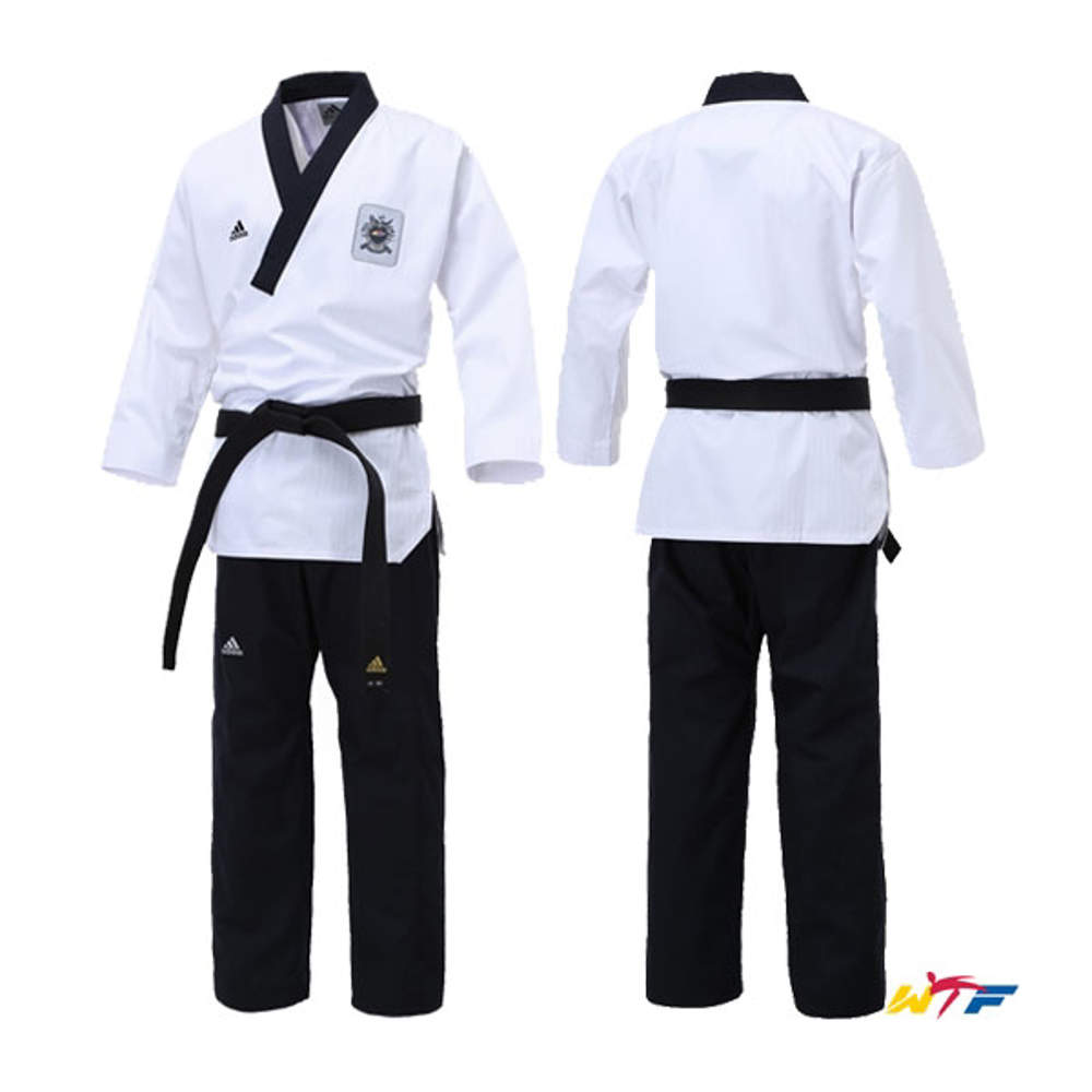 Picture of adidas WTF dobok for forms (Poomsae) for senior men