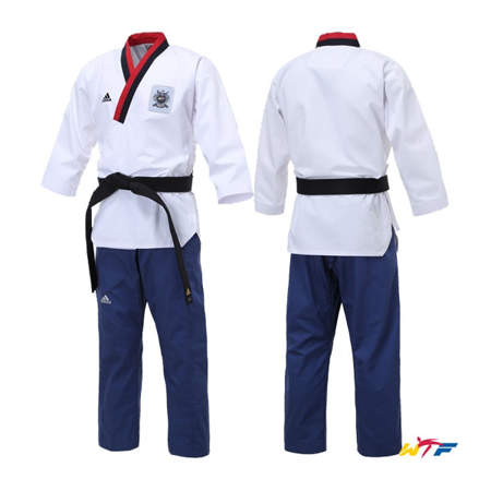 Picture of adidas WTF dobok for forms (Poomsae) for junior men