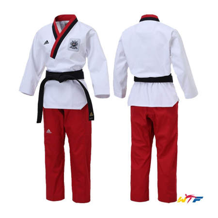 Picture of adidas WTF dobok for forms (Poomsae) for junior women