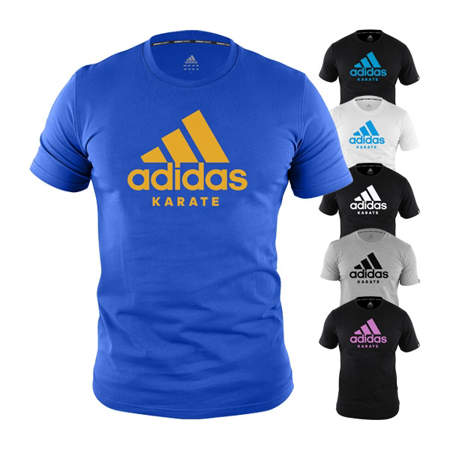 Picture of adidas karate t-shirt