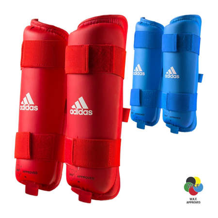 Picture of adidas WKF karate shin protectors - Tokyo