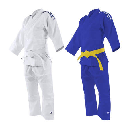 """Picture of adidas """"2 in 1"""" judo kimono for beginners"""