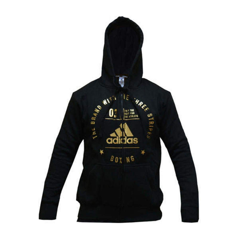 Picture of adidas boxing zip-jacket with a hood
